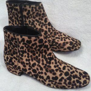 Nine West Leopard Print Ankle Boot  11M